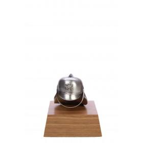 43382 Helm klein Zilver 10cm