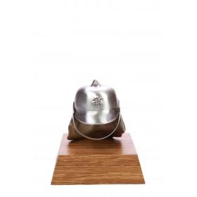 43383 Helm groot Zilver 12cm