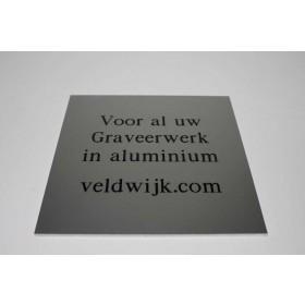 Aluminium graveren
