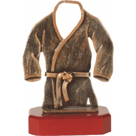 Luxe trofee judo / judoka 22,5cm WBEL 193B