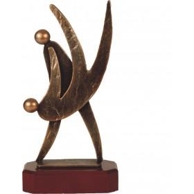 Luxe trofee twee dansende mensen 25,5cm WBEL 236B