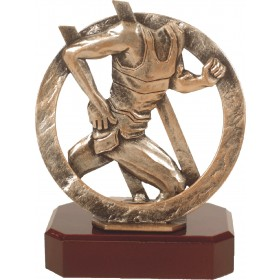 Luxe trofee hardloper / atletiek 19,5cm WBEL 292B