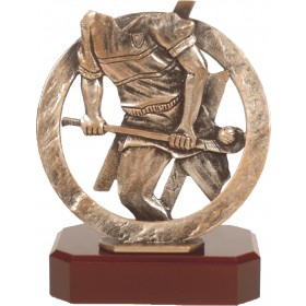 Luxe trofee hockeyspeler / hockey 19,5cm WBEL 294B
