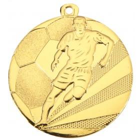 Medaille met voetballer WM112A 50mm