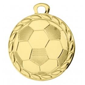 Medaille met voetbal WDI3202 32mm