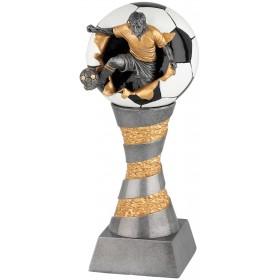 Standaard voetballer met voetbal Serie WST200