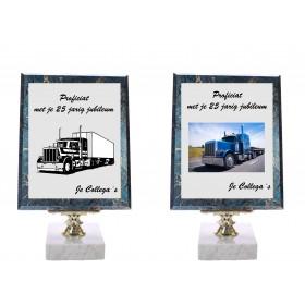 Wandbord 360 Serie blauw